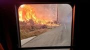 美南加州再爆山火!一夜蔓延1400英亩 民众紧急撤离