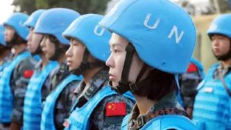 """维和战场上, 中国军人就是祖国的最佳""""代言人""""!"""