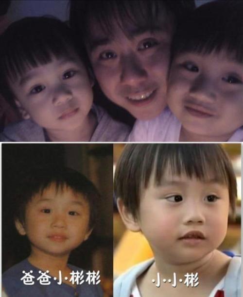 2009年在偶像剧《下一站幸福》中,5岁的小小彬长得可爱,演技又好,迅速