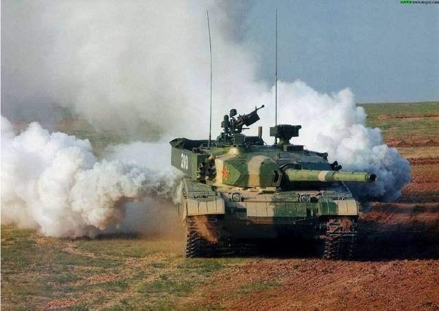 """中国99a坦克""""较量""""西方先进主战坦克,结局让人惊讶"""