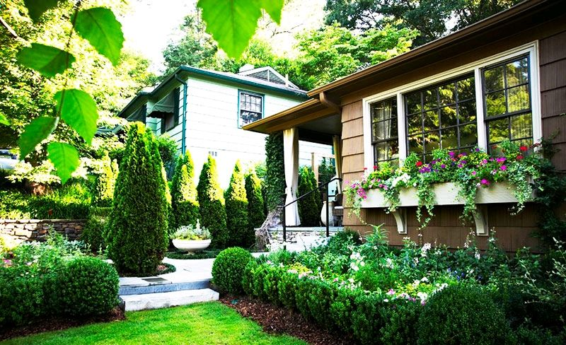 小花園設計實景圖!私家庭院露天陽臺設計方案!
