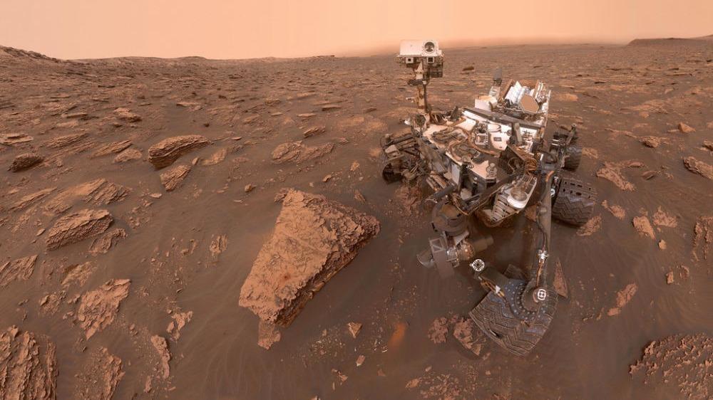 """""""好奇""""号火星车发现火星曾存在盐水湖"""