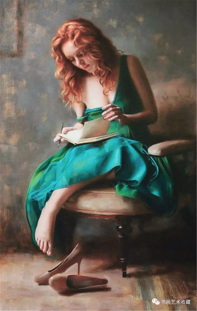 付躹?'_国外六位女画家作品展:向你美好的躯体躹一躬吧