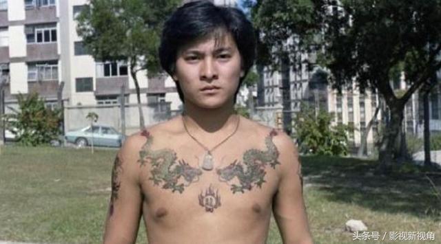 刘德华,谢霆锋,古天乐,周星驰谁的纹身最霸气?我选第四位!