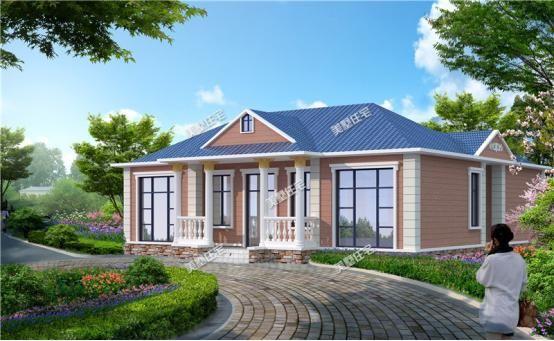 3款农村一层小平房,功能齐全自带5卧室,适合度假和养老