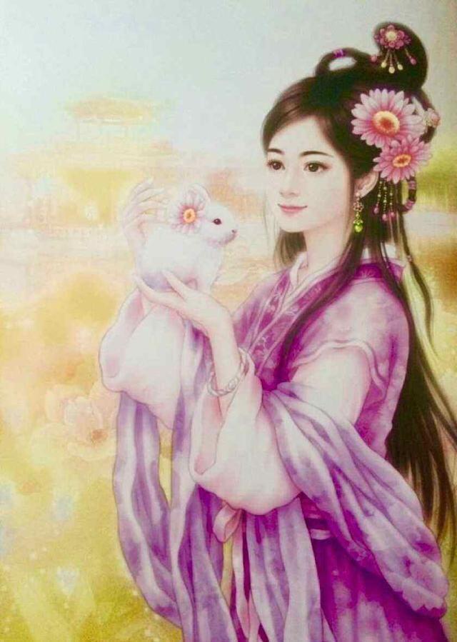 白羊座的手绘古风有一种英姿飒爽的感觉,给人一种侠女风范,惹人喜爱.
