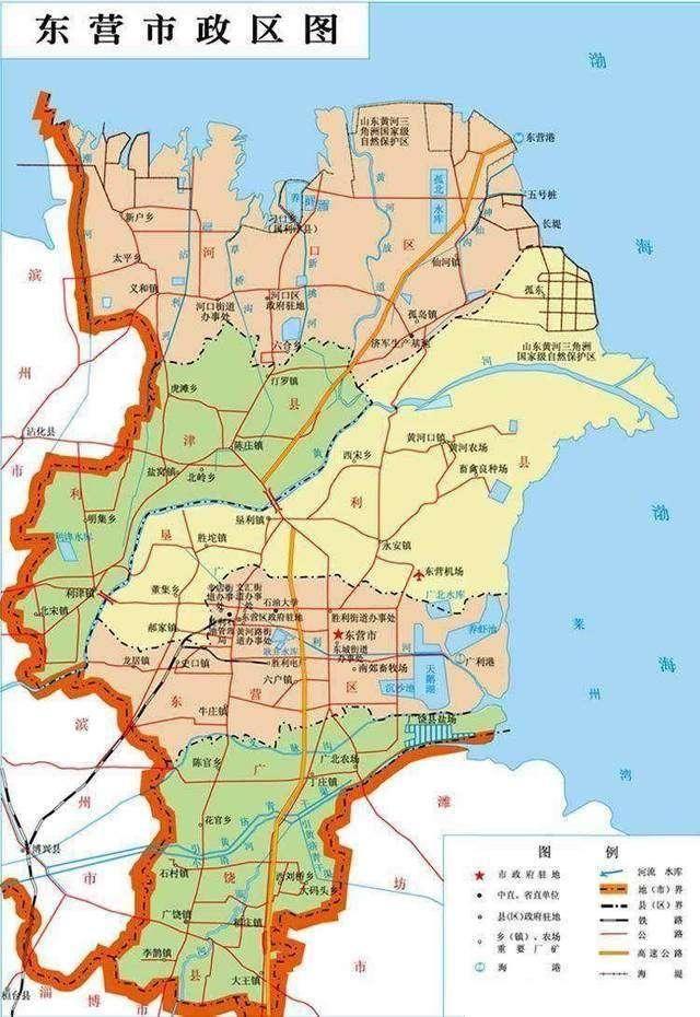 中原油田街道地图