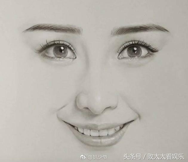 女明星素描画成这样,网友:杨幂和热巴最像,但她最惊艳