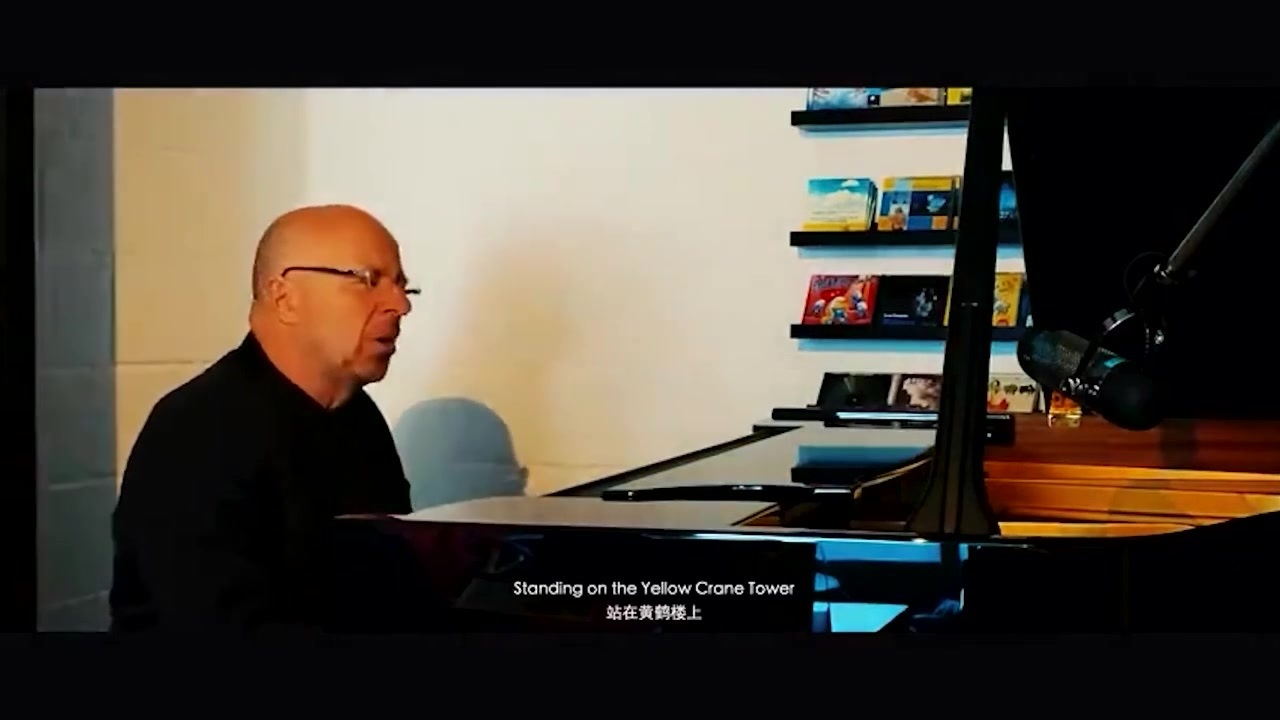 比利时钢琴家创作歌曲声援武汉:武汉,我们在等你