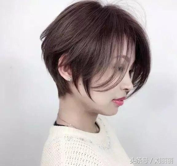 春节最修饰发型头型20款,美到逆短发发天头韩国图片