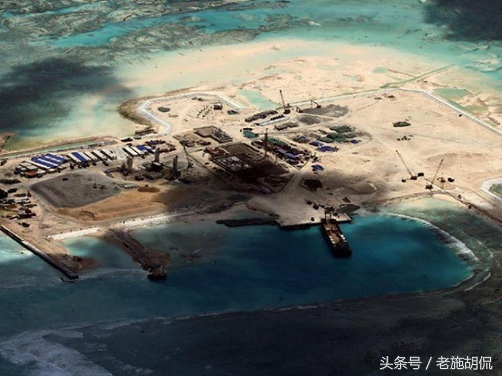 南海造岛最新进展2018