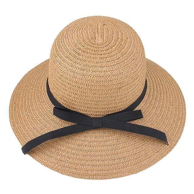 去海边度假,穿沙滩裙一定要配上这样的沙滩帽,拍照瘦脸更唯美