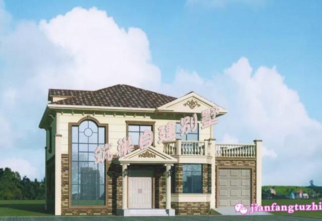 11x11米二层农村别墅设计图,1个布局4种外观!