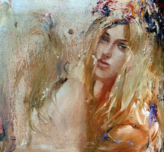 人体巴巴艺术_俄罗斯画家巴甫洛夫人体油画欣赏,大胆奔放,色彩艳丽!