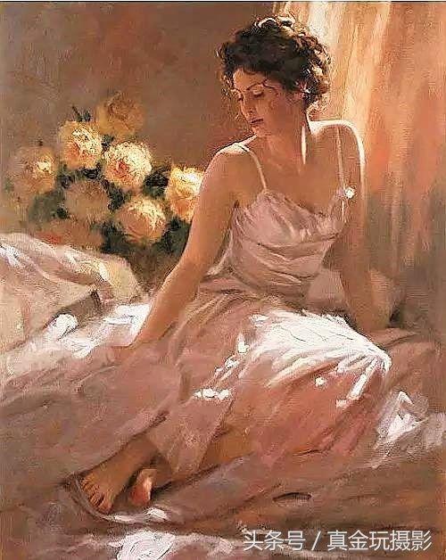 世界级油画大师笔下的唯美女性请欣赏