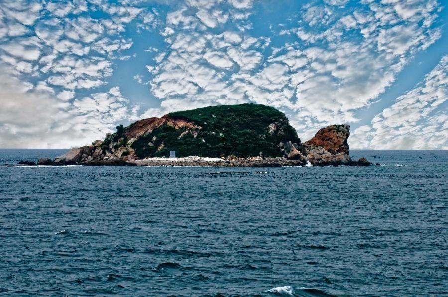 黑岛度假村:位于大连庄河市黑岛镇东端.