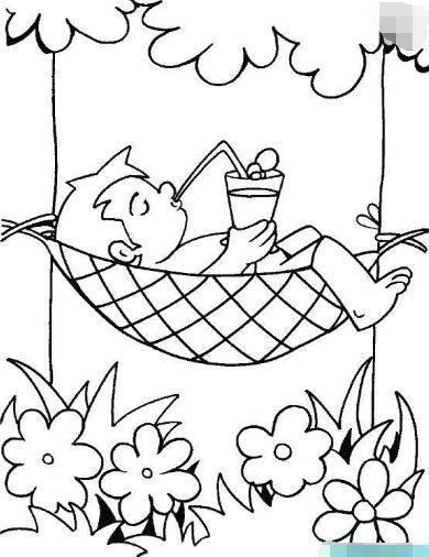 卧在荷叶上的青蛙 穿裙子的小女孩在河边玩耍 水里玩耍,嬉戏 结言