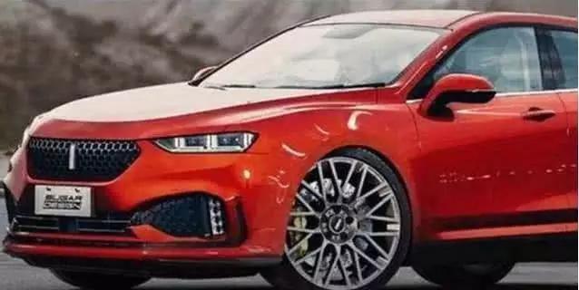 长城wey推出新款轿车,外观帅到掉渣,将成博瑞最大敌人