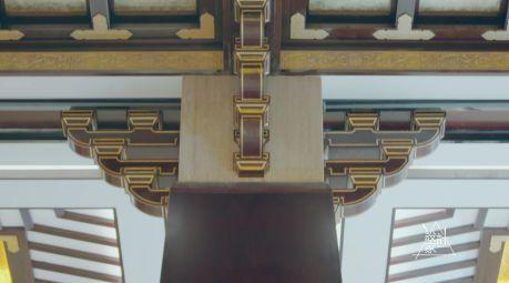 室内设计汉唐面部古风广告设计图片