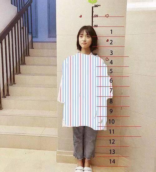 饰演道明寺的王鹤棣是空少出身,身高超过180cm,这对于一起对戏的沈月
