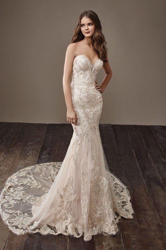 十二星座专属唯美鱼尾裙婚纱,巨蟹简洁狮子华丽天秤最