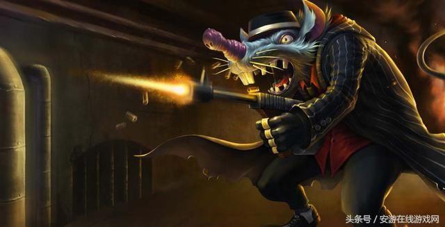 黑帮狂花和原画_从黑帮狂花新版原画中,可以看出女枪在猎杀老鼠!