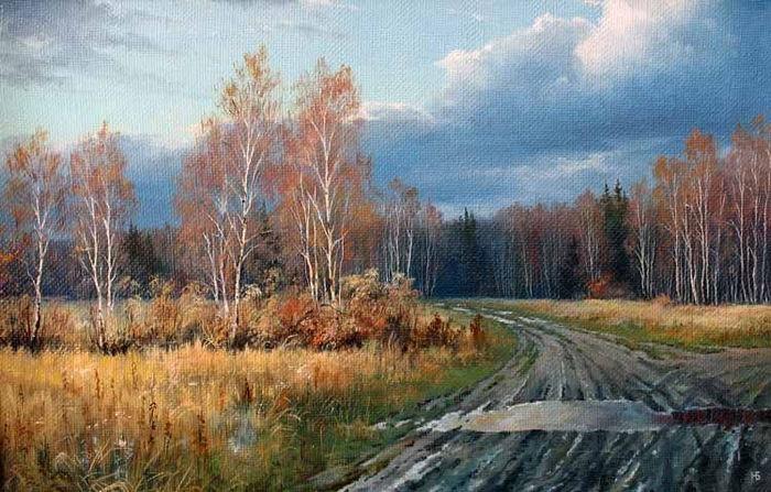 俄罗斯风景油画的大师很多,艺术家弗拉基米洛维奇算一