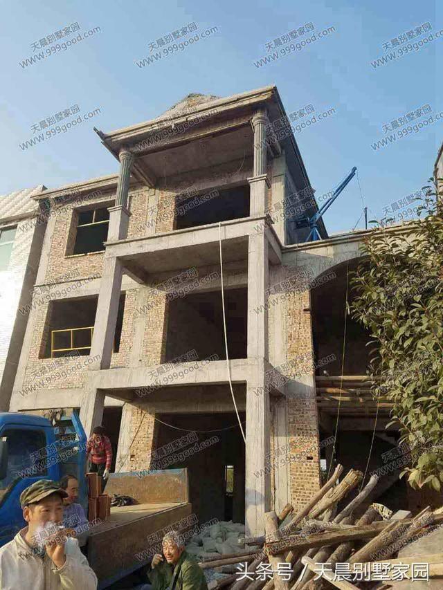 农村3层自建房12.4x12米,布局接地气!