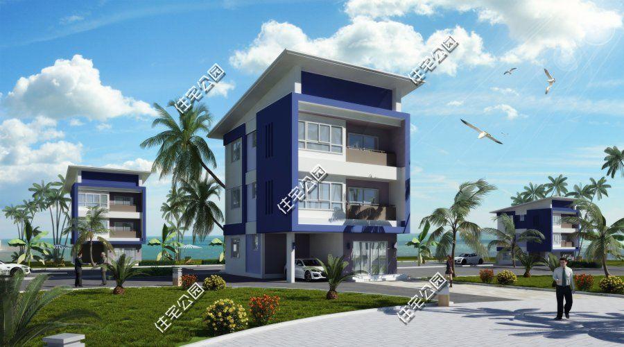 农村宅基地太小怎么办?7套户型告诉你,开间4到7米也能建好别墅