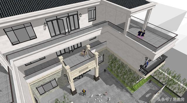 四川农村别墅100多万打造豪宅,室内景观齐备,看完想不