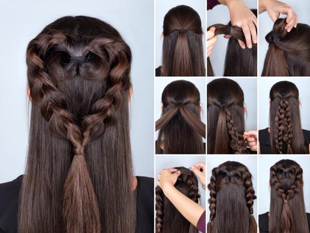 【图】长发发型扎法编辫子 教你快速学会打扮自己图片