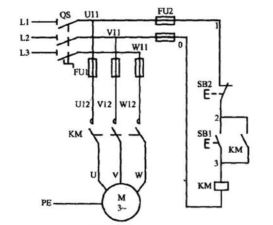 初学者必看:5张电路图,由浅入深,秒会控制电机正反转的接线