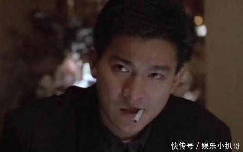刘德华(华仔),看这张图眼神很犀利,而且看起来有些痞气,很吊的样子!