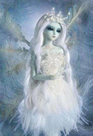 十二星座专属水瓶芭比,女生座蓝眸双鱼画,美如狮子座形式表现人的喜欢个性图片