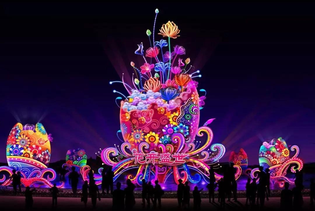 時間:1月28日—3月10日 2019年第七屆大唐芙蓉園新春燈會 時間:2019年圖片