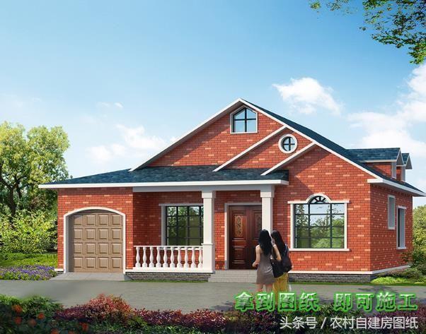 农村建房,,,宽8米长17米求房子设计图