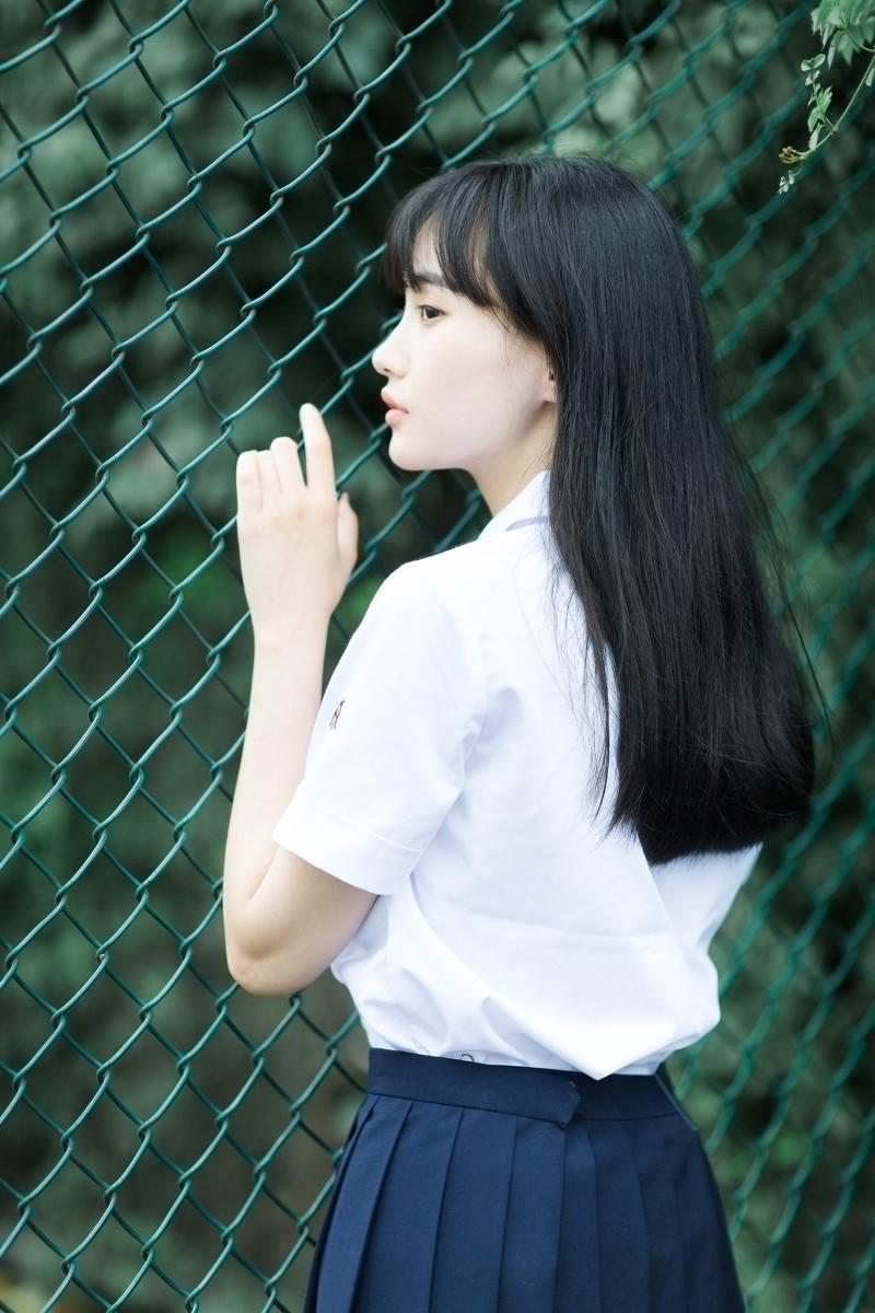 这才是女神!亚洲美女清纯童颜学生妹写真图片