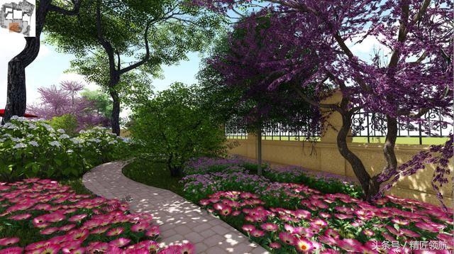 实例分享欧式庭院设计,带你漫游花丛中
