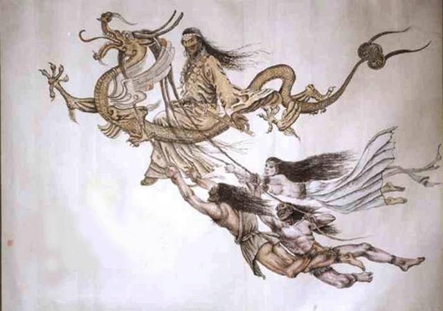 像华夏文明的黄帝在4800多年前消灭了蚩尤,降服了炎帝,稳定住大盘