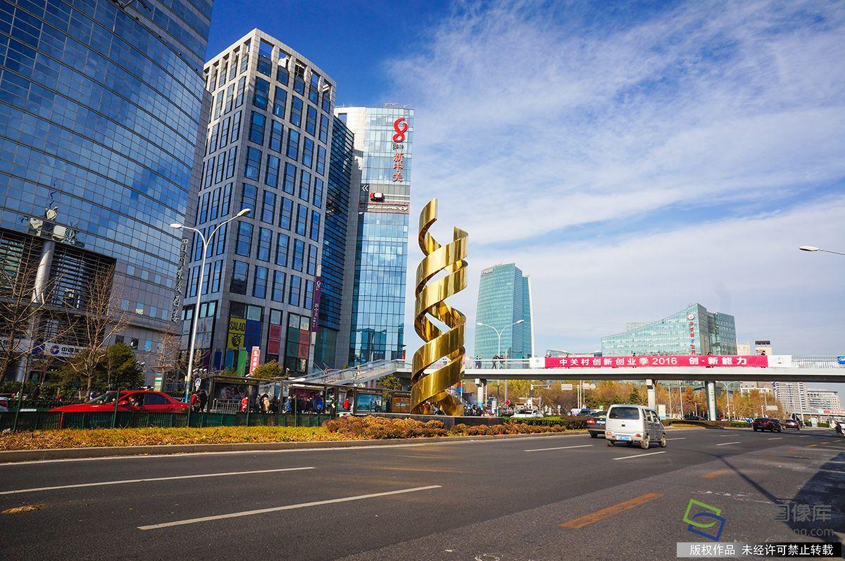 中关村_北京中关村大街街景(资料图图片来源:tuku.qianlong.com).
