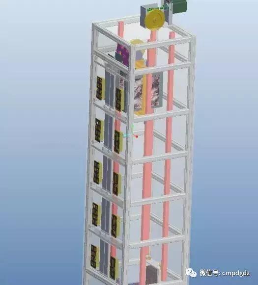 plc编程实例分享,多图详解五层楼电梯控制系统
