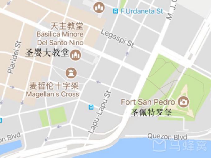 宿务景点地图