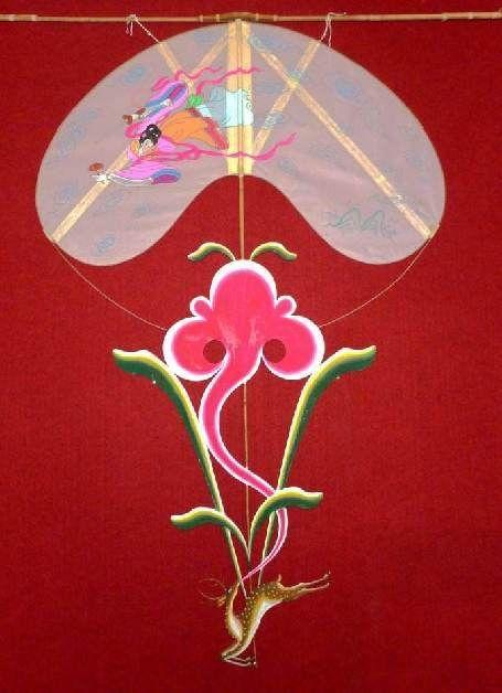 龙头风筝怎么安装图解