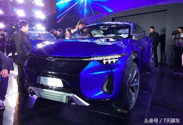 奇瑞tiggo全新概念车,高颜值新科技,国产汽车外观设计