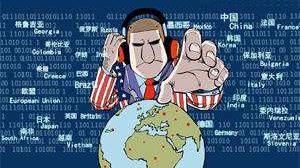 美情报机构被爆窃取120国机密 外交部回应