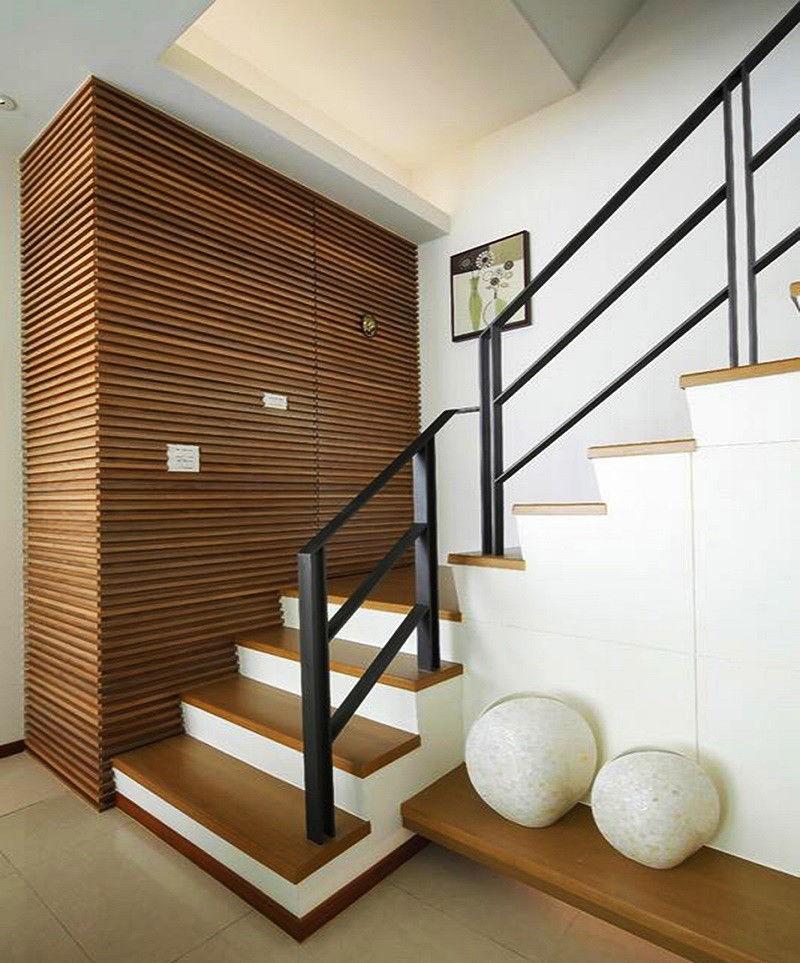 朔州市180平米复式楼现代简约风格装修设计图,楼梯是亮点图片
