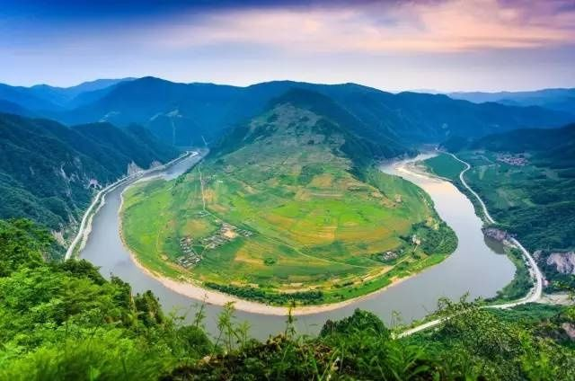 北京至丹东沿途风景