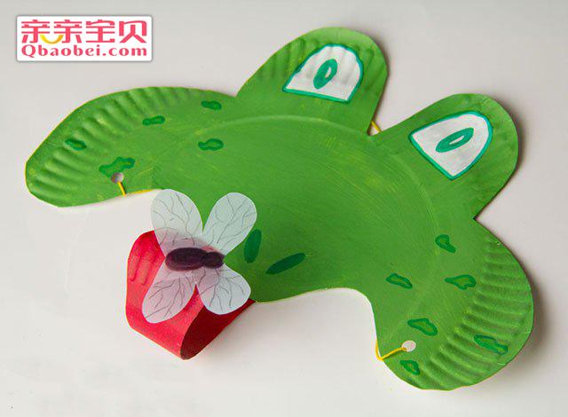 趣味青蛙面具手工制作