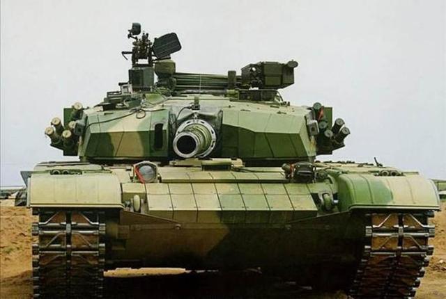 亚洲第一主战坦克99a:早期很多技术借鉴于t-72坦克