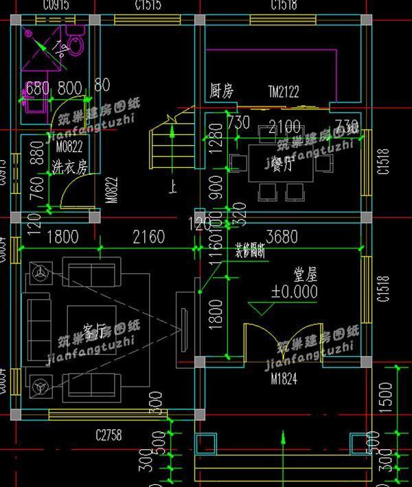 建房实拍:70平方米三层小户型农村自建房8x9米(附全套设计图)